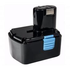 Батарея для аккумуляторной дрели Hitachi (14.4V; 2.0A/h; Ni-Cd) Практика 032-171