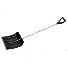 Лопата снеговая 775010 металл-пластик 138x40см