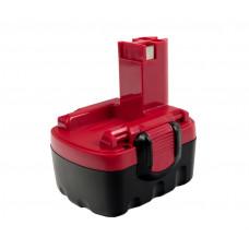 Батарея для аккумуляторной дрели Bosch (14.4V; 1.5A/h; Ni-Cd) Практика 030-870