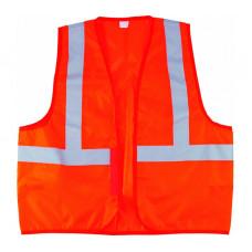 Жилет сигнальный Сибртех 89514 оранжевый, размер XХL