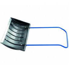 Скребок Движок для снега Сибртех 61594 750x405, пластиковый, П-образная ручка