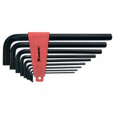 Набор ключей имбусовых 2.0-12 мм Matrix 11227 (9 шт, удлиненные, CrV, HEX)