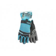 Перчатки Gross 90315 комбинированные облегченные, открытые пальцы, AKTIV, М