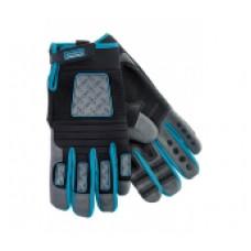 Перчатки Gross 90335 универсальные комбинированные Deluxe, XXL