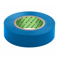 Изолента ПВХ, 15 мм х 10 м, 130 мкм, синяя Сибртех 88787