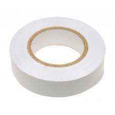 Изолента ПВХ, 15 мм х 10 м, 130 мкм, белая Сибртех 88792