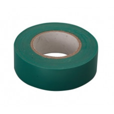 Изолента ПВХ, 15 мм х 10 м, 130 мкм, зеленая Сибртех 88791