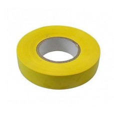 Изолента ПВХ, 19 мм х 20 м, 180 мкм, желтая Сибртех 88796