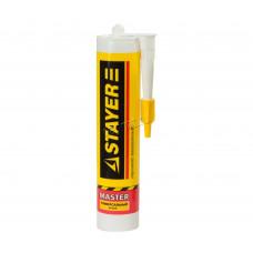 Герметик силиконовый универсальный белый Stayer MASTER 41213-0, 280 мл