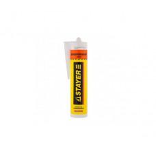 Герметик силиконовый универсальный прозрачный Stayer MASTER 41213-2, 280 мл