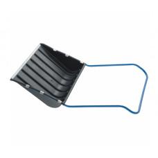 Скрепер для снега 750 х 550 х 1,3 мм Сибртех 61593 пластиковый, П-образная ручка, металлическая окантовка