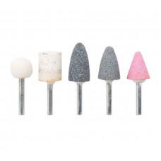 Шарошки абразивные для фигурных отверстий по камню Fit it 36465 (5 шт.) (малые)