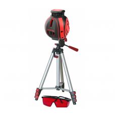 Нивелир лазерный Condtrol UniX 360 Set (точность 0.2мм/м, диапазон работы 40 м, с приемником 80 м)