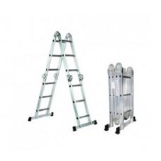 Лестница-трансформер шарнирная Aluminium - 4x4