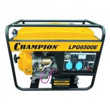 Генератор бензино-газовый Champion LPG6500Е