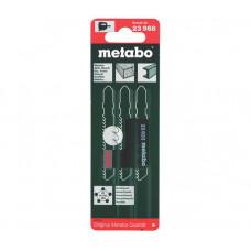Набор пилок для лобзика Metabo 623968000 универсальный (3 шт.)