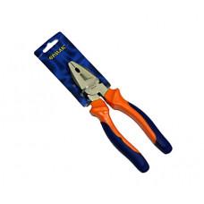 Пассатижи Ермак 661241 комбинированные с двухцветной ручкой 180мм