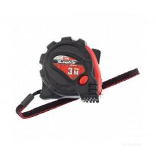 Рулетка 3мx16мм Matrix 31004 обрезиненный корпус, зацеп с магнитом, Status Magnet 3 Fixations