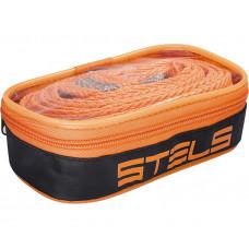 Трос буксировочный Stels 54384, 12 тонн, 2 крюка, пакет
